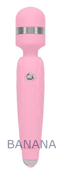 Вибромассажер Pillow Talk Cheeky Pink с кристаллом Сваровски