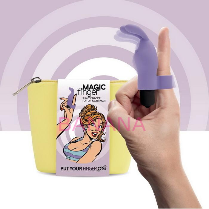Вибратор на палец FeelzToys Magic Finger Vibrator Purple